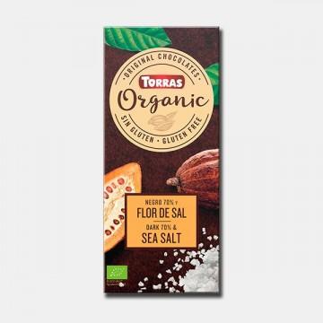 CHOCOLATE NEGRO 70- FLOR SAL