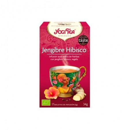 INFUSION JENGIBRE E HIBISCO - 17 X 2gr.-