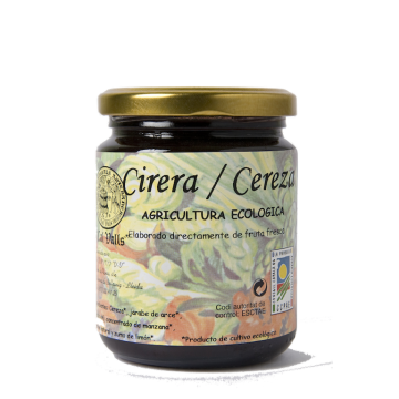 MERMELADA DE CEREZA CON AGAVE 250ml