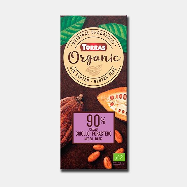 CHOCOLATE  ORGANICO 90-