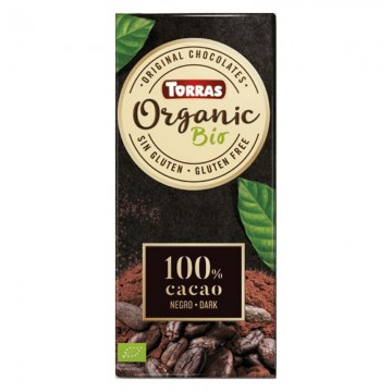 CHOCOLATE ORGANICO 100 - CACAO